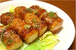 にんにく味噌豆腐