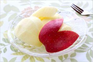 りんご 食べ方